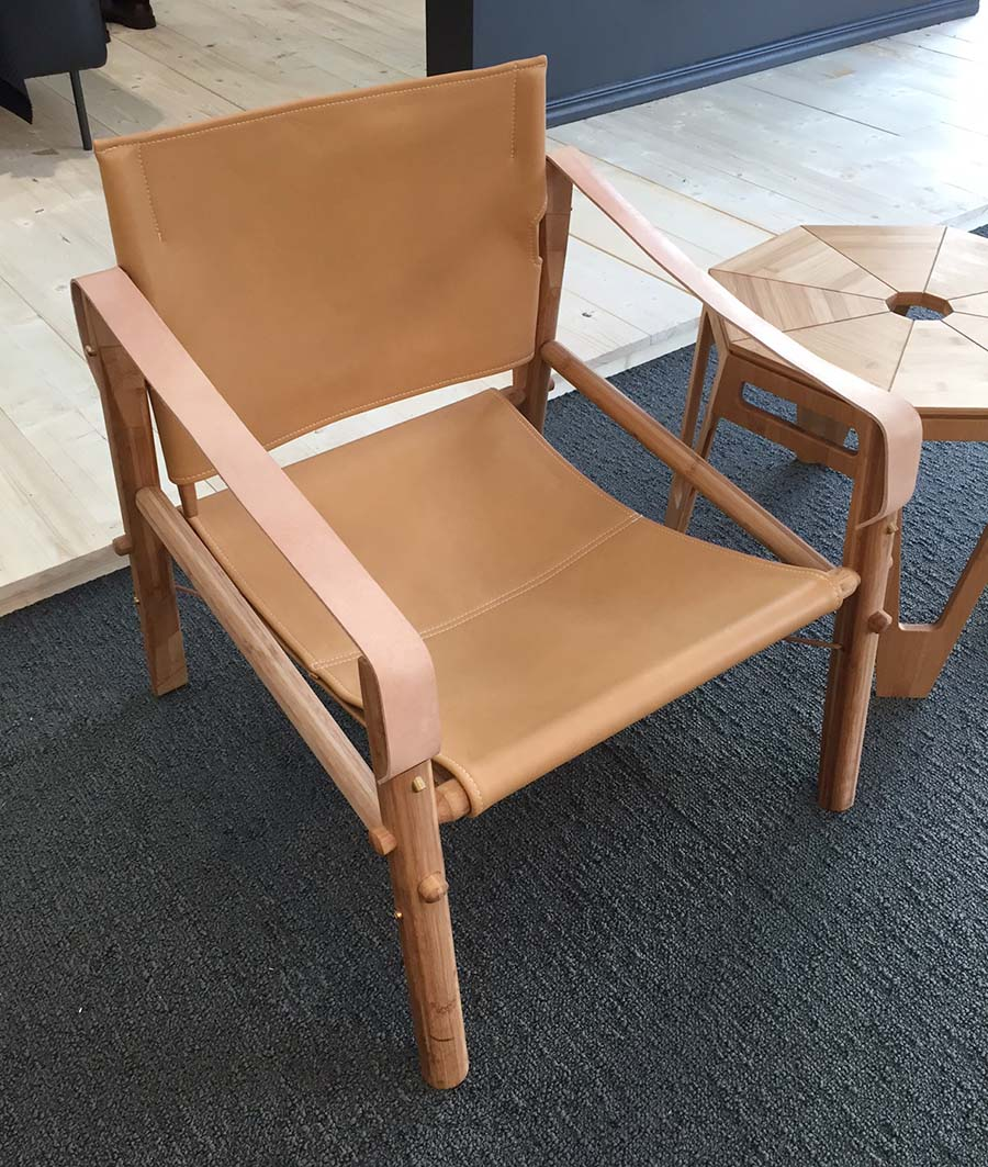 london design junction leather nomad chair