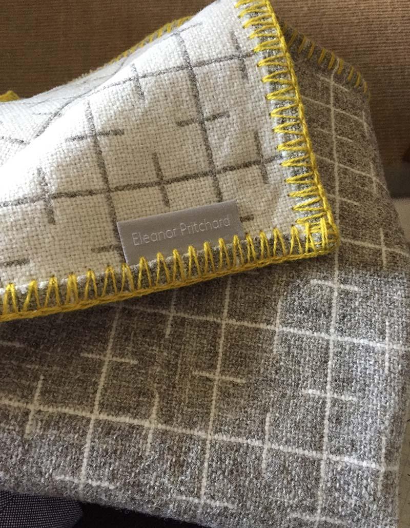 eleanor pritchard reversible textile accessory
