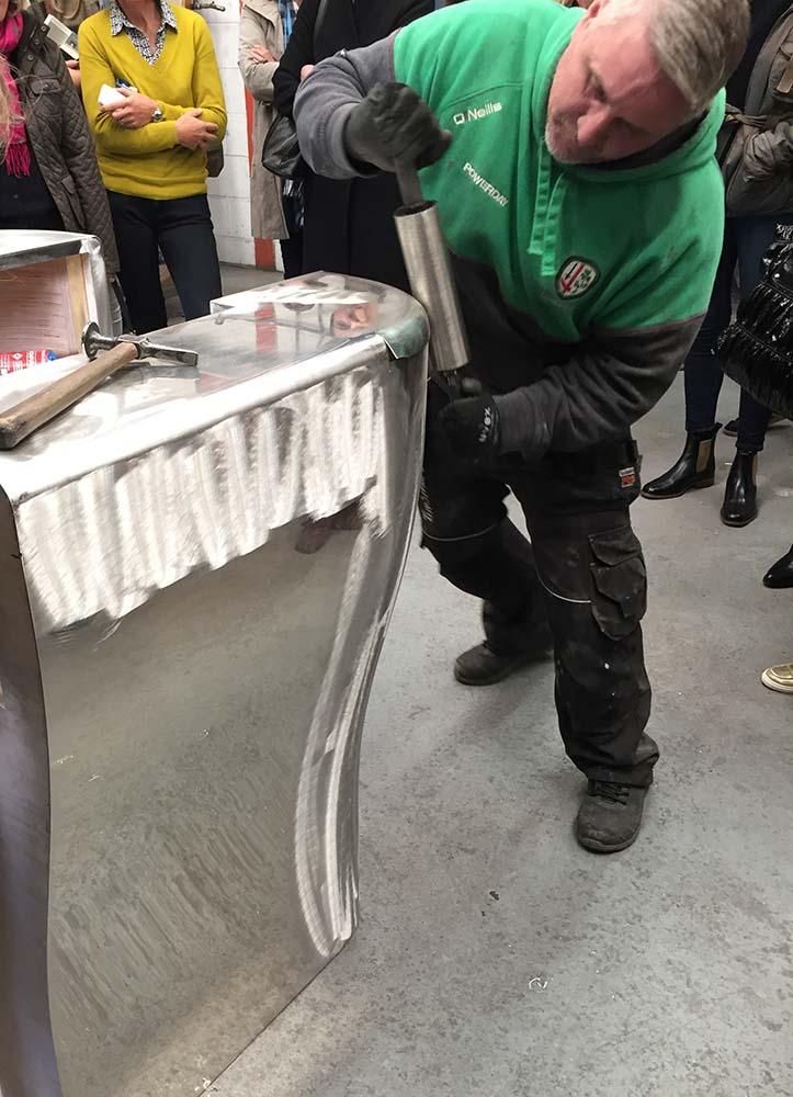 benchmark bespoke furniture metalworking