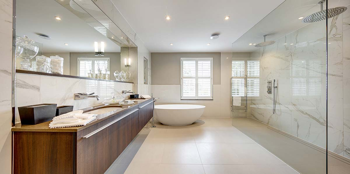 winchester hampshire luxury master bathroom design
