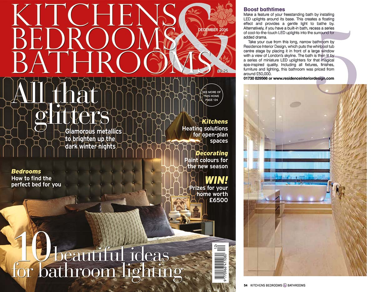 kbb london bathroom lighting design feature