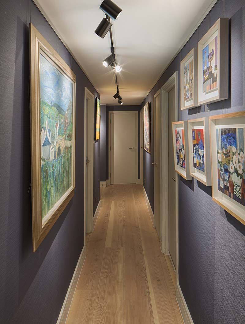 london farringdon artwork interior lighting design