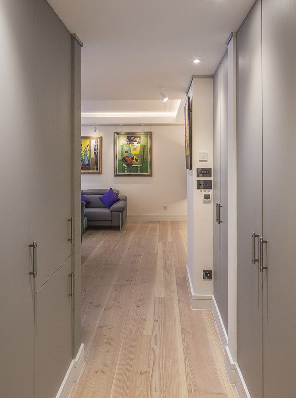 london farringdon artwork reception interior design