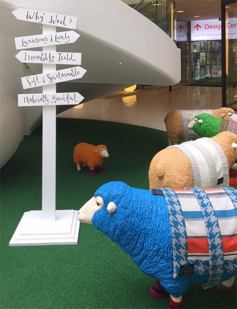 wool week design carpets at london chelsea