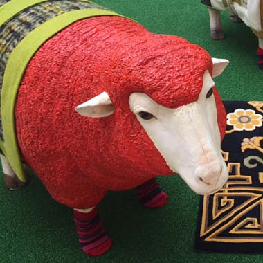 Wool Week at London's Design Centre in Chelsea