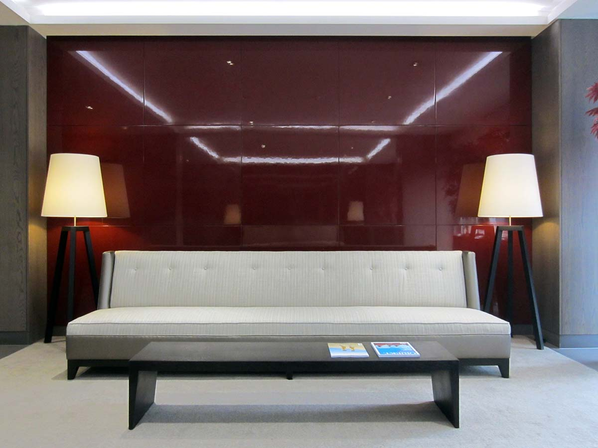 apartment interior design at chelsea harbour in london