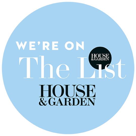 We're now on House & Garden's 'The List'