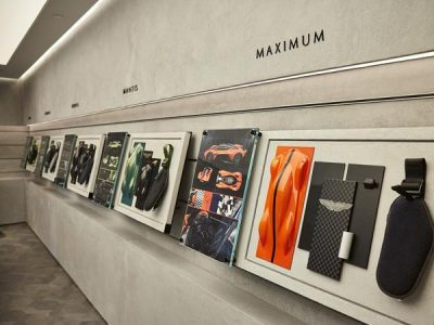 aston martin design presentation boards