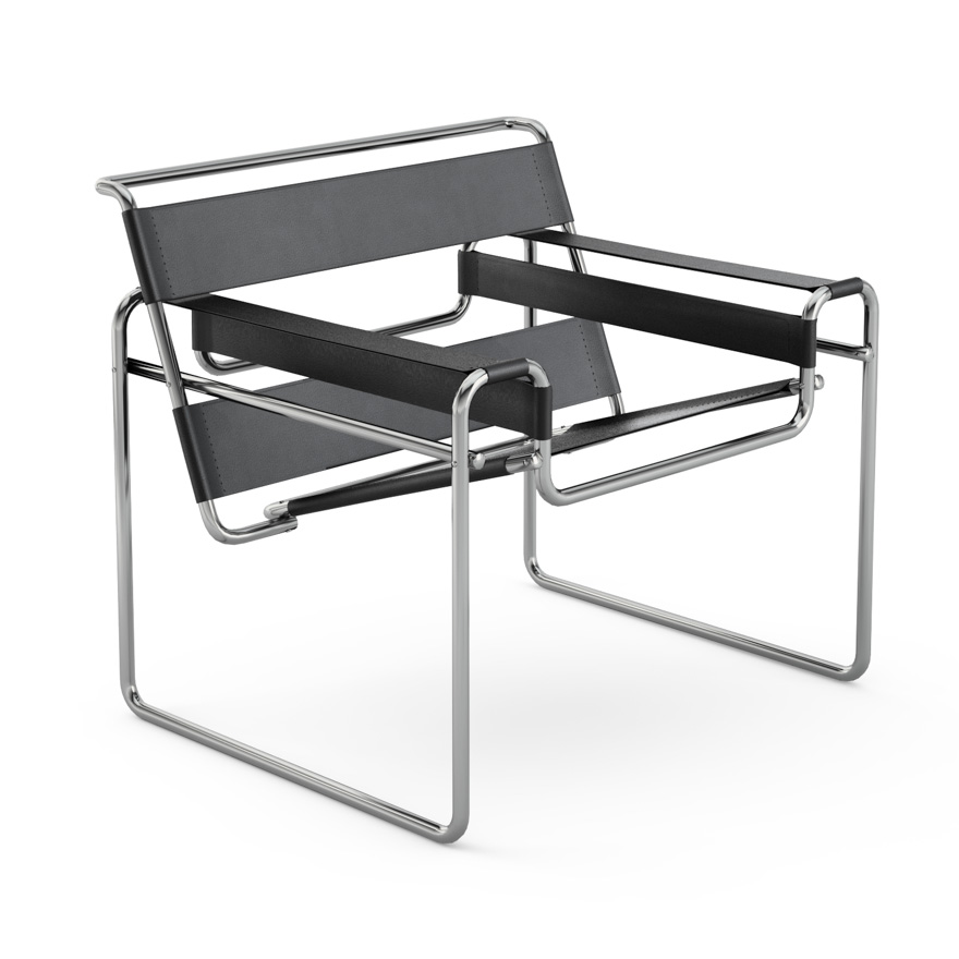 bauhaus marcel breuer wassily chair design