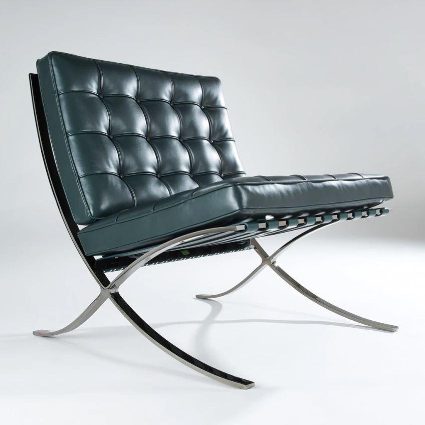 bauhaus mies van der rohe barcelona chair design