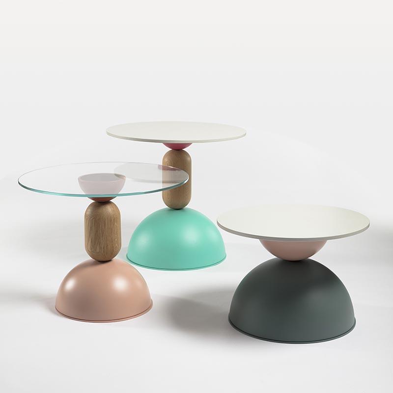 Debonademeo Rondo tables by Debonademeo
