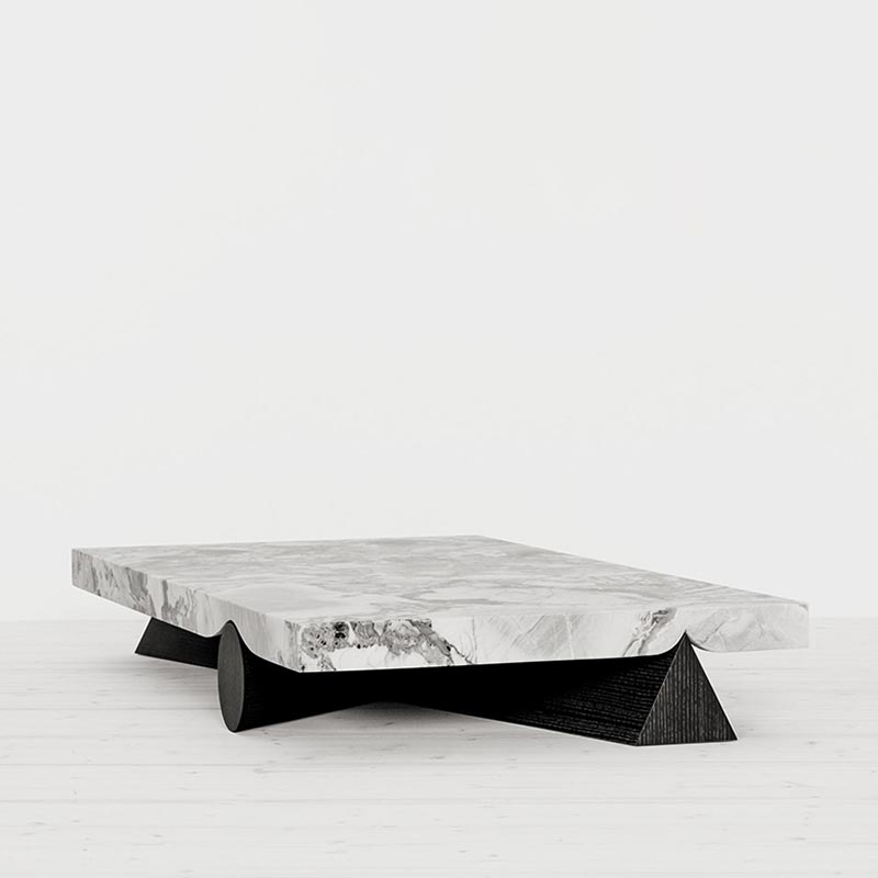 Geo low table by Christophe Delcourt for Spotti