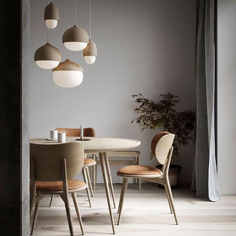 Dining Chair by Space Copenhagen for Mater