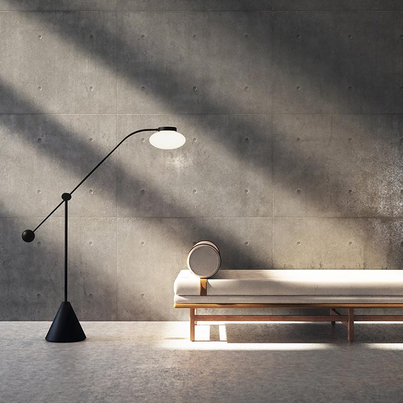 Lamp Day Bed by OEO Studio for Stellar Works