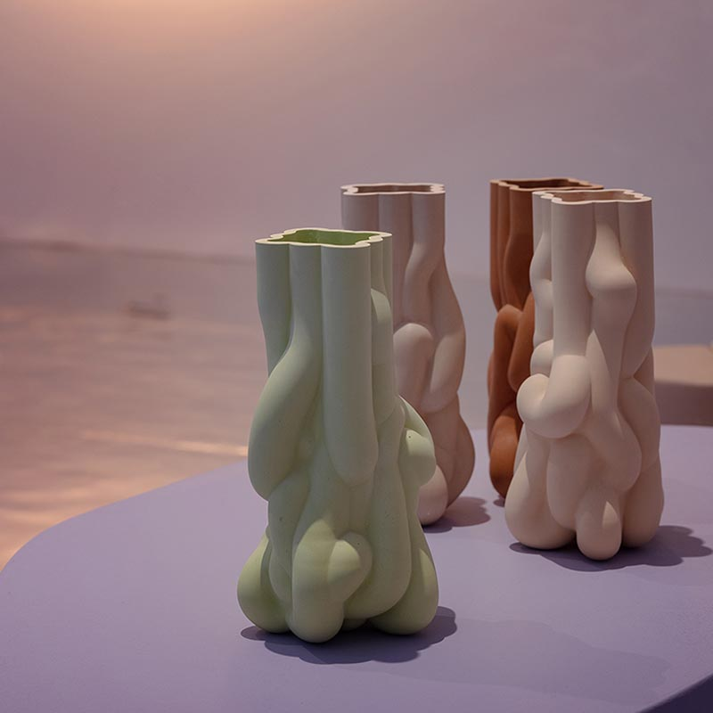 Tides vases by Wang & Soderstrom + Kwangho Lee