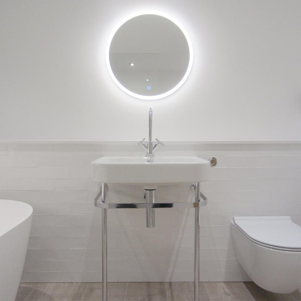 hampshire bathroom simple design basin mirror