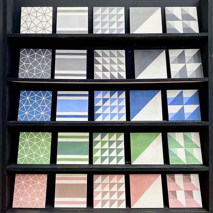 decorex 2019 designer tiles