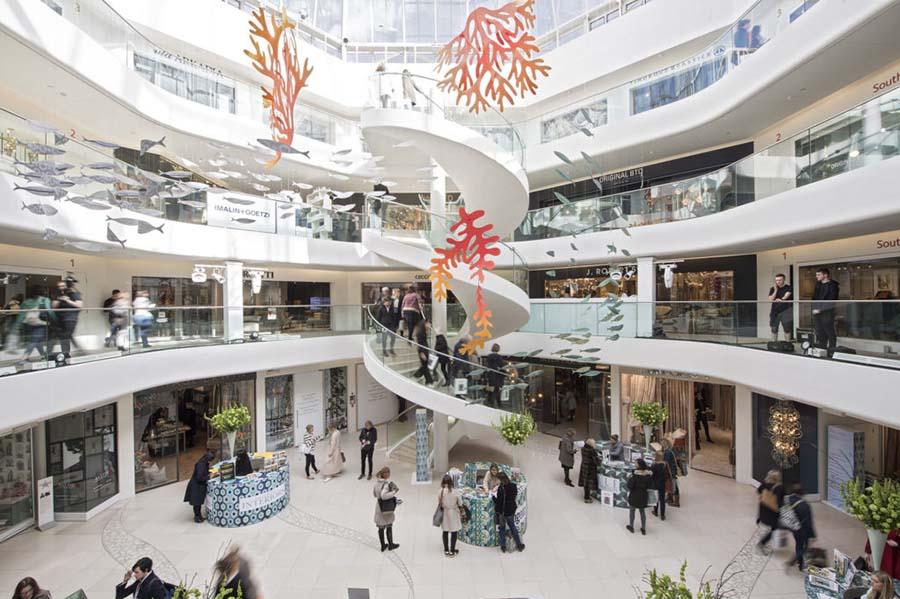 chelsea harbour design centre interior london