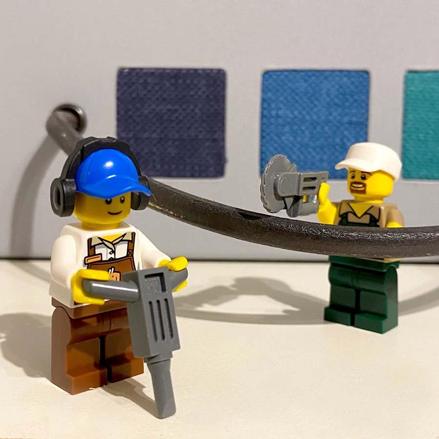 construction work starts on interior refurbishment