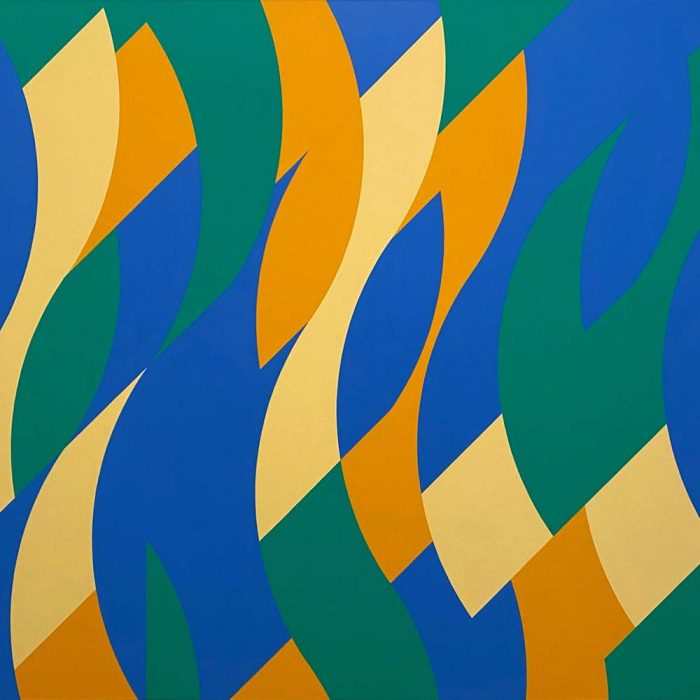 Bridget Riley at London's Hayward Gallery