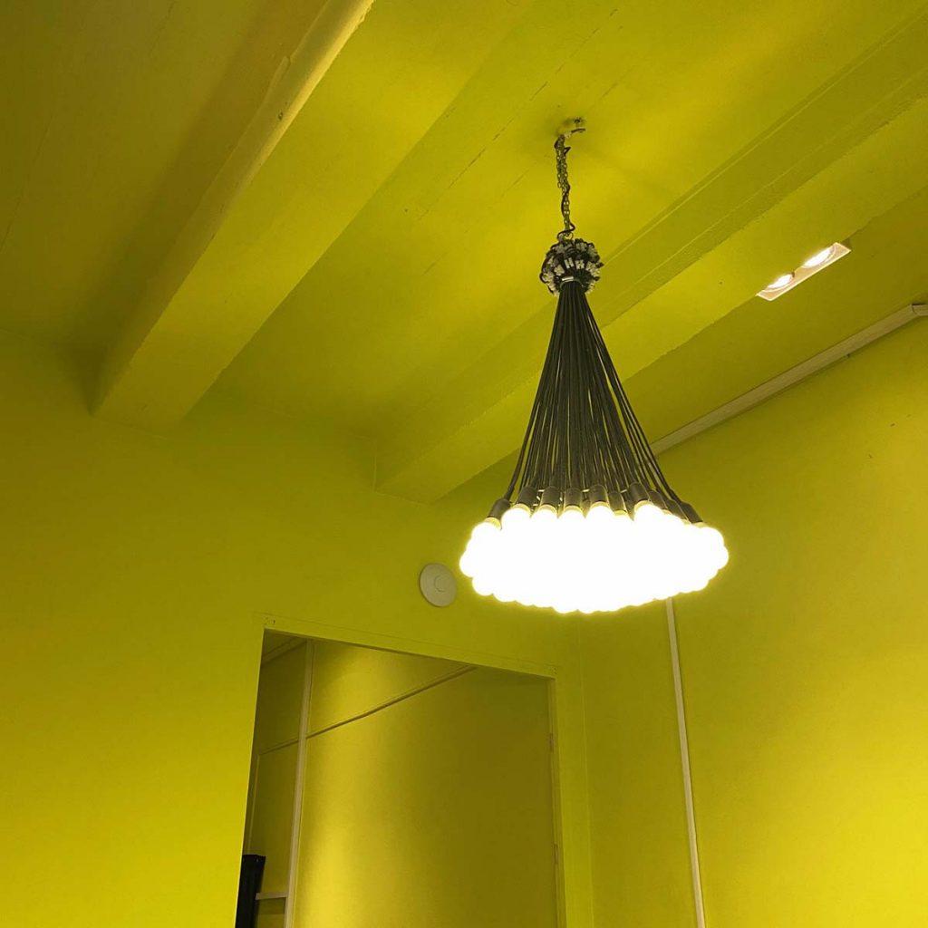 droog 85 lights chandelier