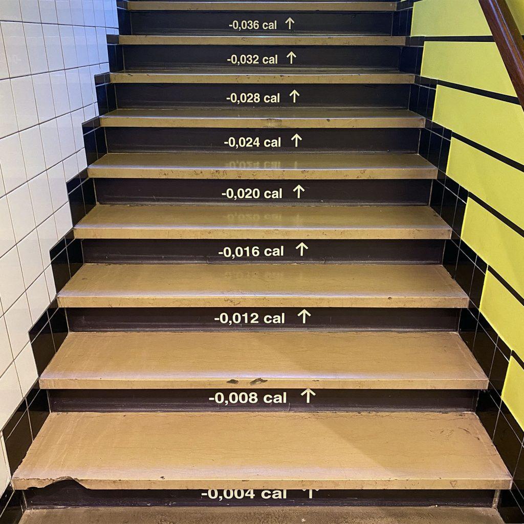droog design cafe staircase amsterdam