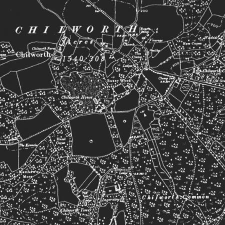 old chilworth southampton hampshire design map