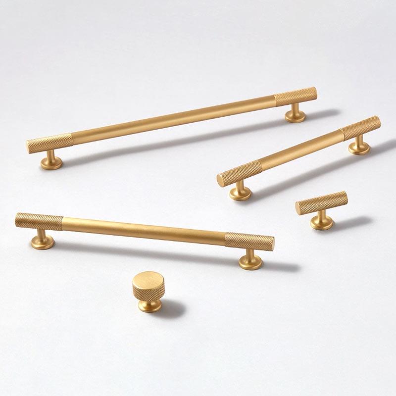 armac martin cabinet handles satin brass