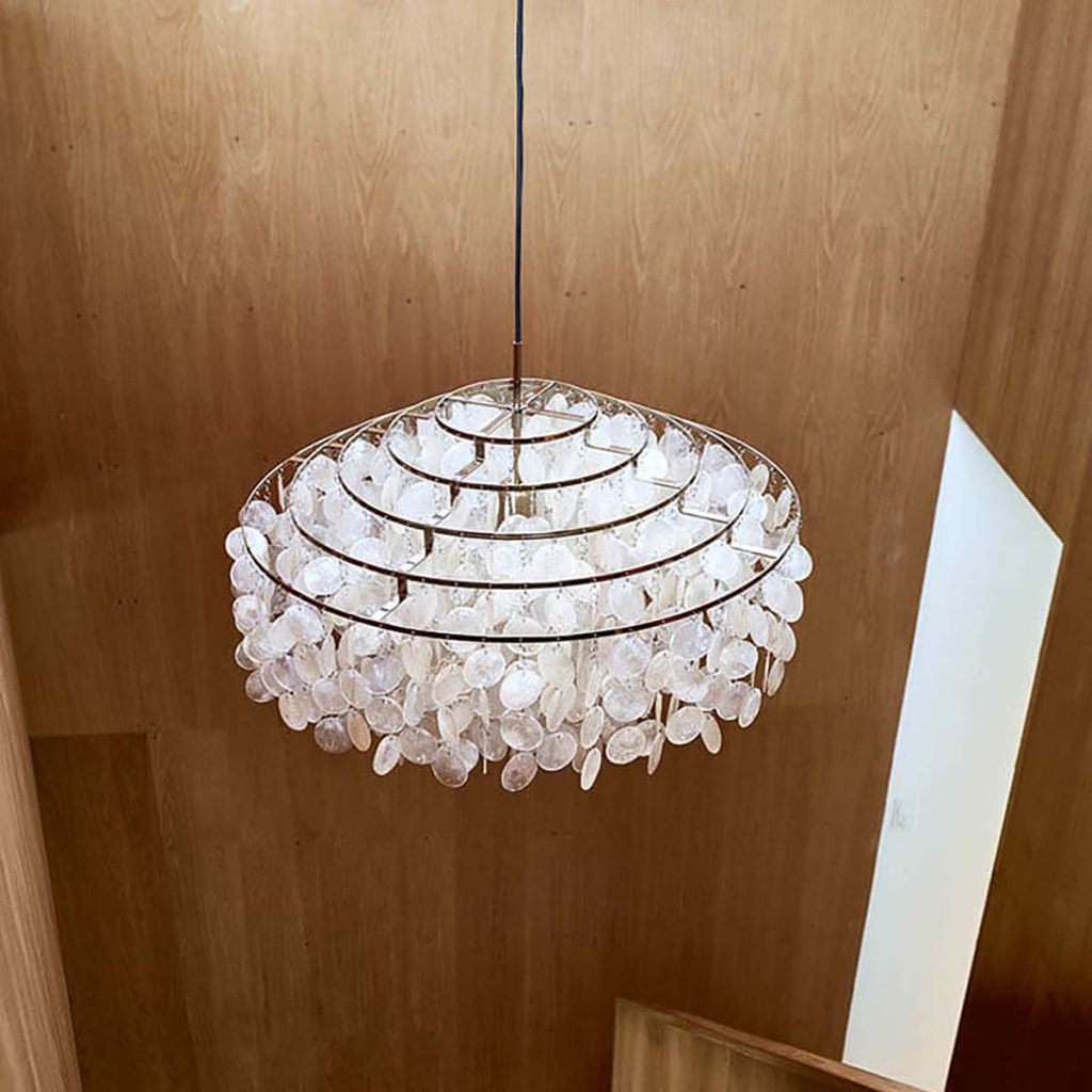 conran verpan fun chandelier light