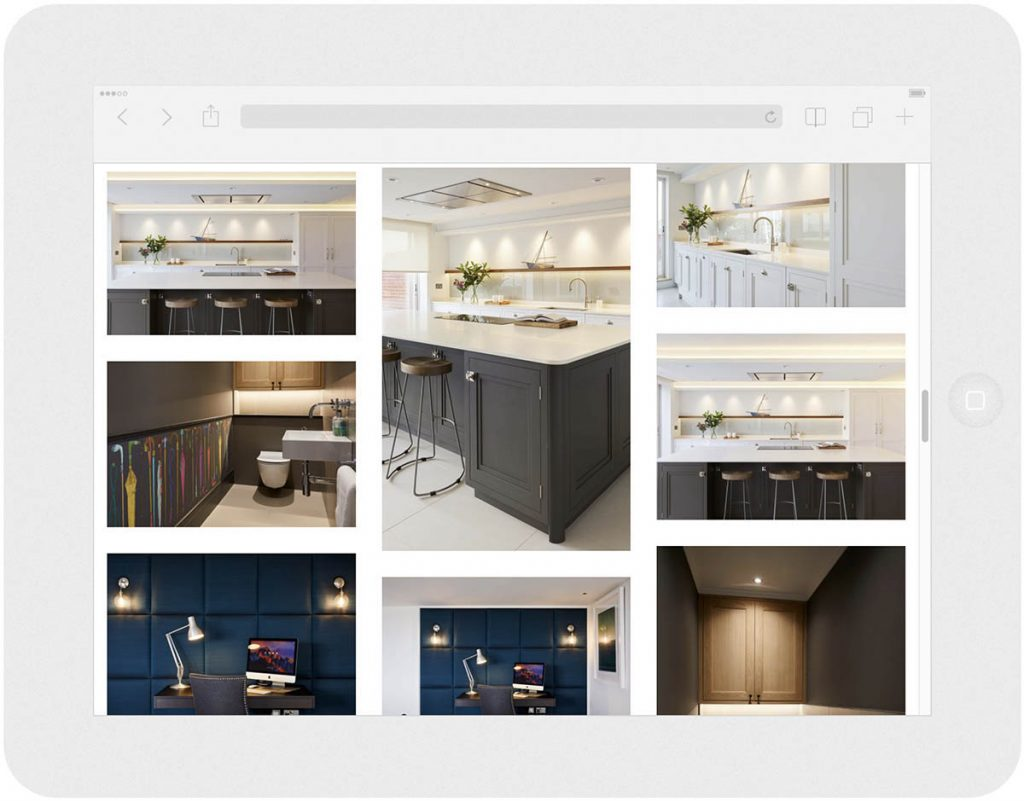 residence interior design website portfolio gallery