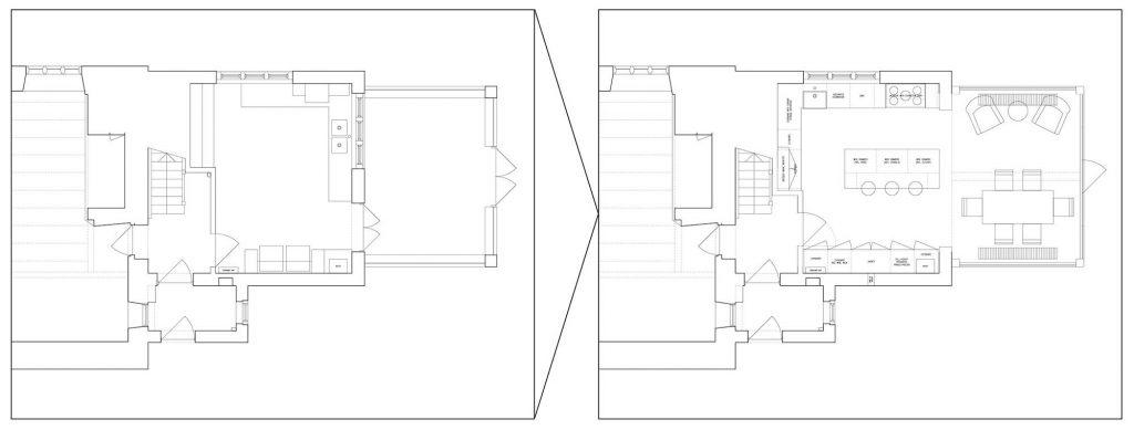 interior design plan wiltshire cottage project