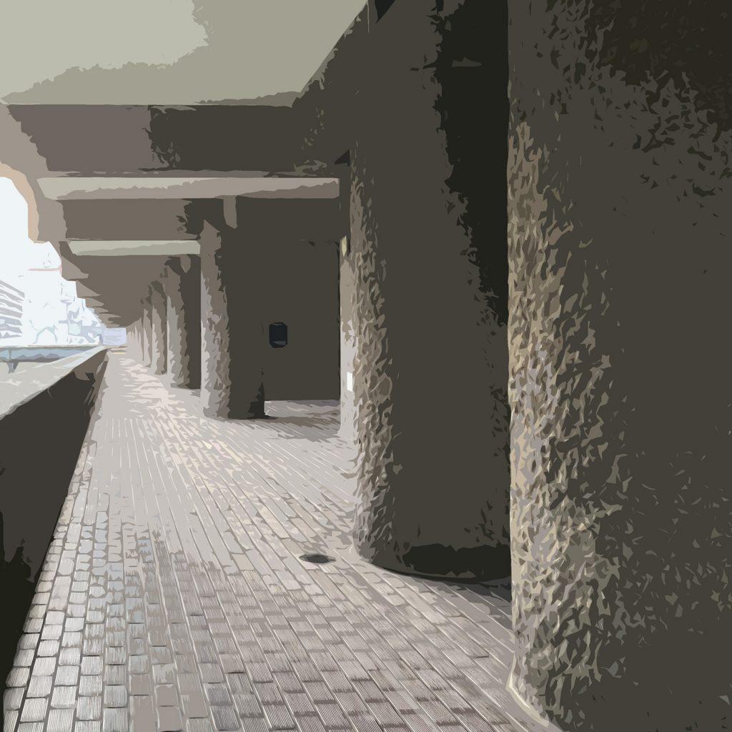 interior design project barbican estate - approach