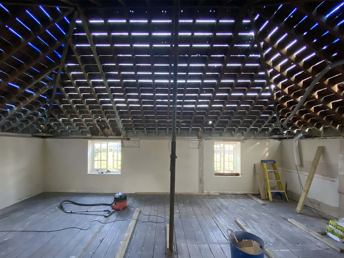 interior design project demolition redesign