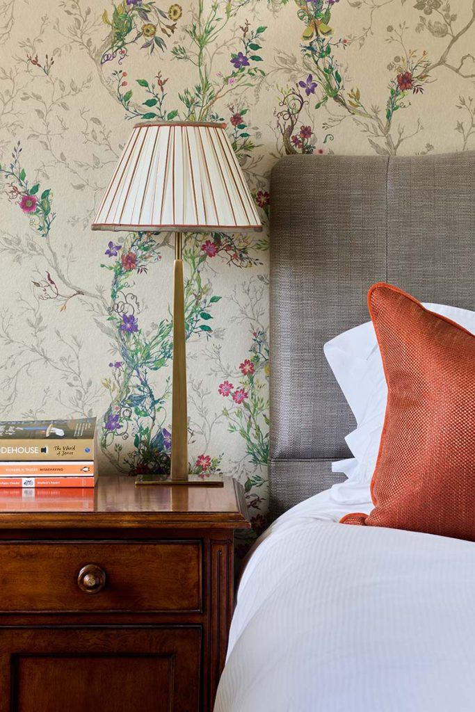 Goring bedroom design bedside table lamp