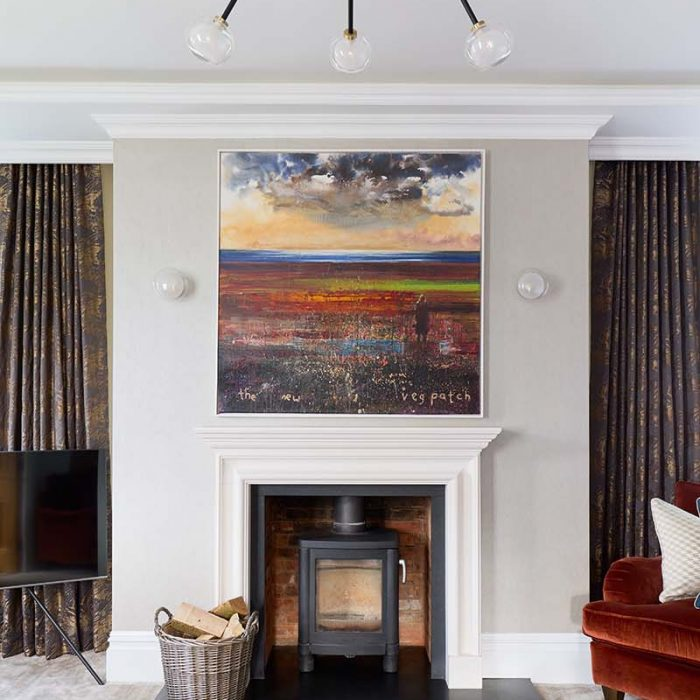 A peek at the full interior design of this large family home in Oxfordshire