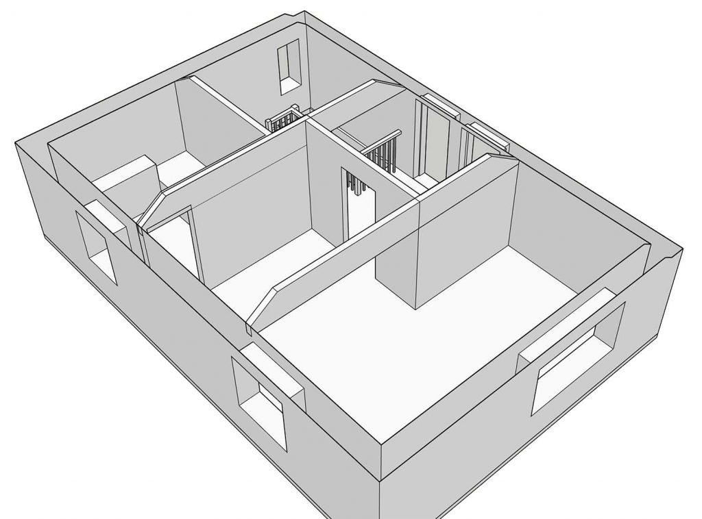 sketchup master suite original perspective
