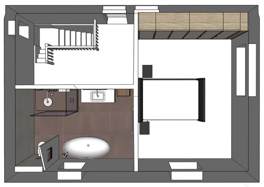 sketchup master suite redesigned layout