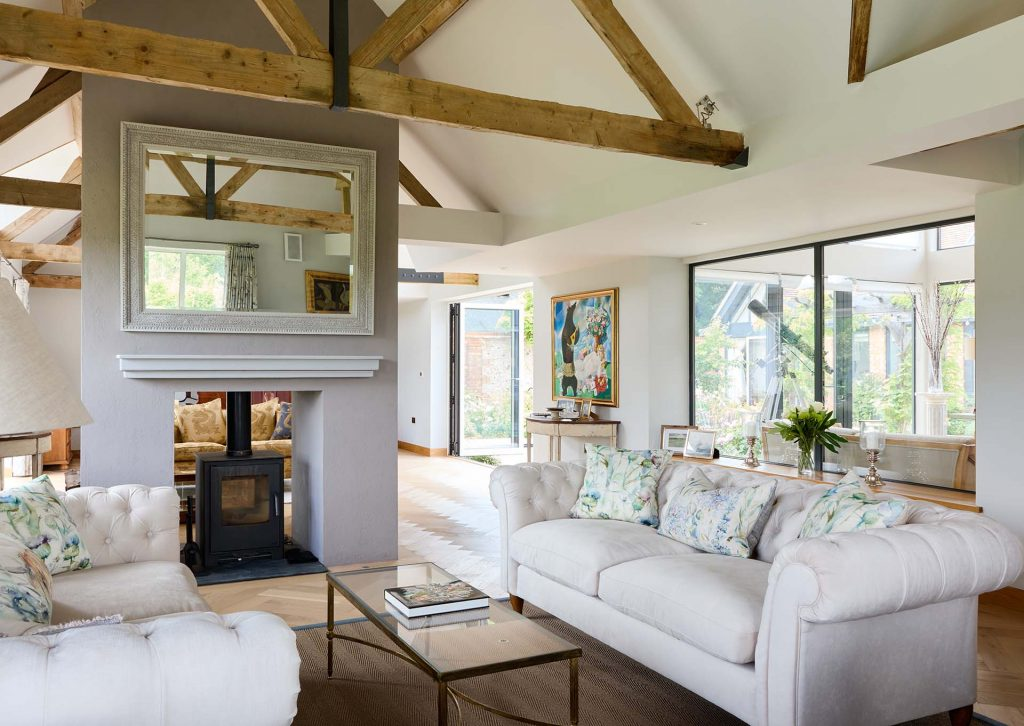 surrey house interior design living room